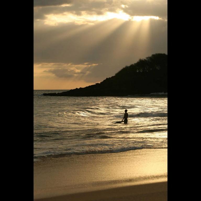 Big Beach Maui Sunset
