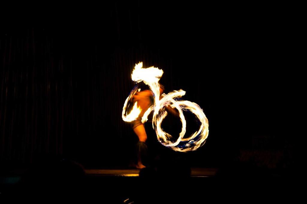 Lahaina Fire Dancer