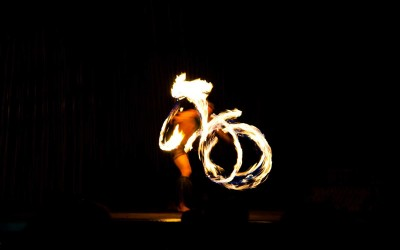 Lahaina Fire Dancer