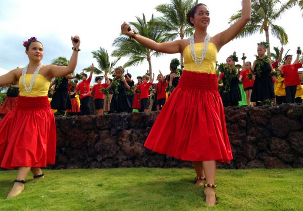Big Island Hula Dancing