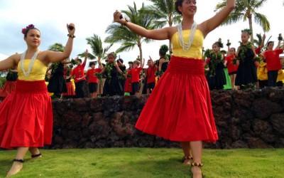 Big Island Hula Dancing