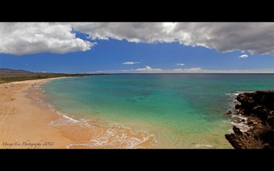 Big Beach Panoramic, Maui