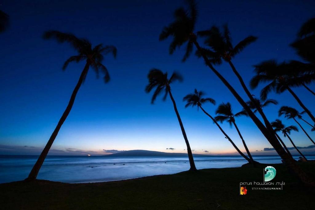 Blue Hour Sunset Maui