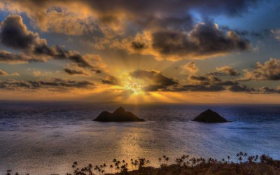 Maui Island Sunset