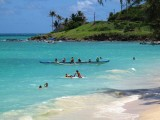 Kailua Beach Outrigger, Oahu Hawaii