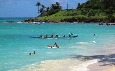 Kailua Beach Outrigger, Oahu Hawaii