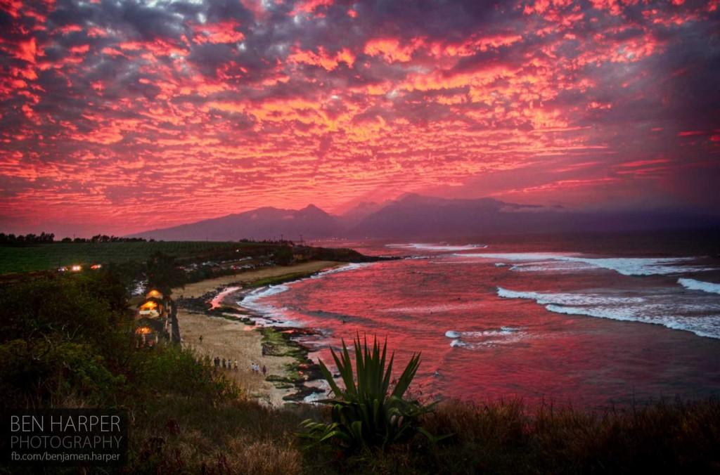 Hookipa Sunset, Maui