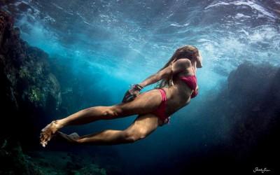 Underwater Swim, Hawaii