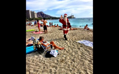 Santa On Waikiki