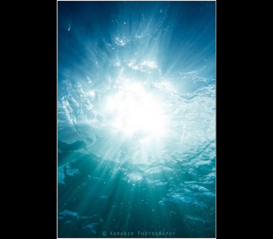 Underwater Sunshine, Maui