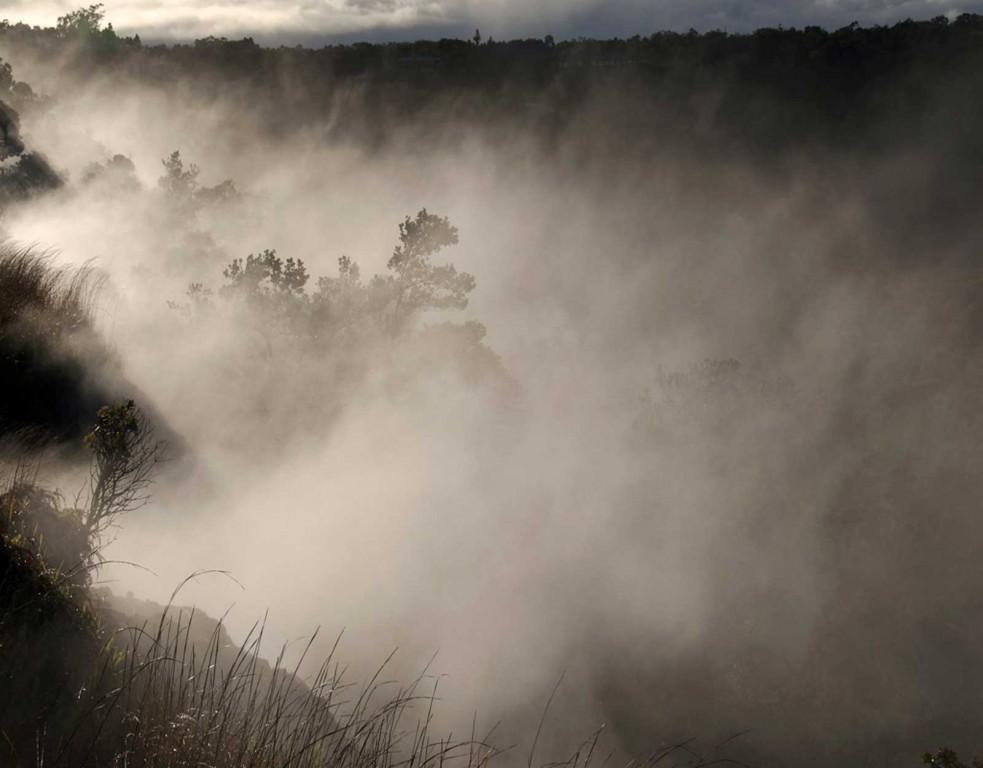 Volcano Steam Vents