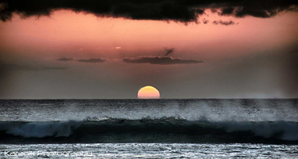 Hawaii Sunset Wave