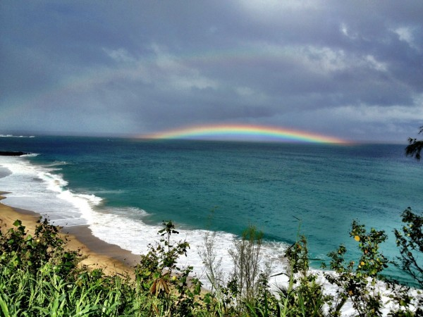Lumahai Kauai Rainbow