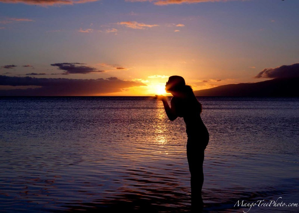 Olowalu Sunset Kiss