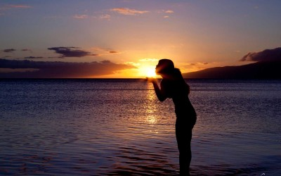 Olowalu Sunset Kiss