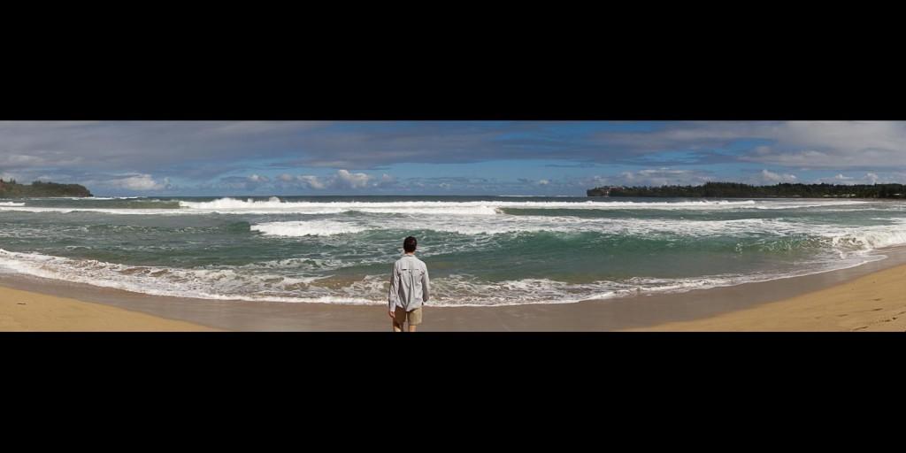 Kauai Beach Panoramic