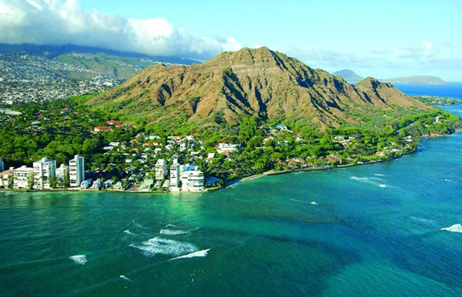 Waikiki Aerial Photo