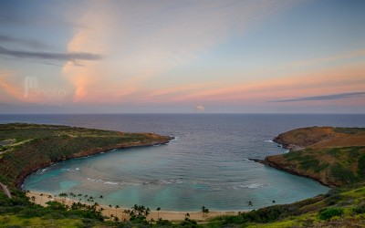 Hanauma Bay Moonrise