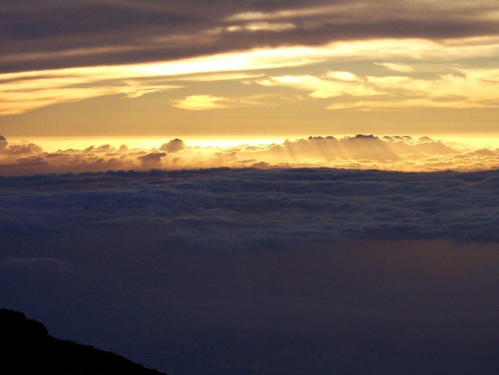 Haleakala Between the Clouds