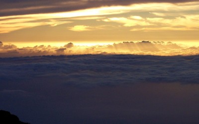 Haleakala Between the Clouds