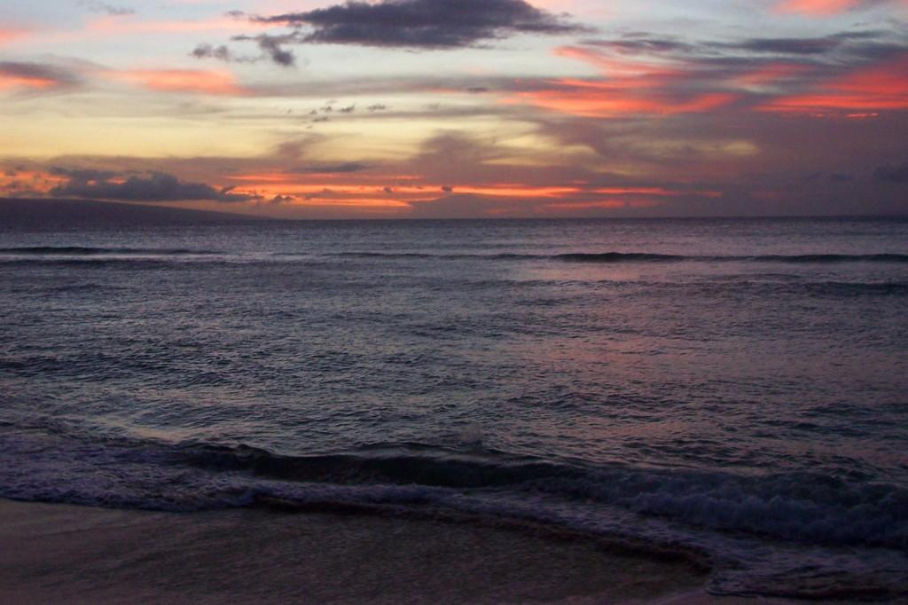 Launiupoko Maui Sunset