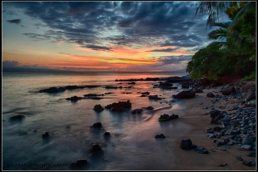 Maui Beach Low Tide