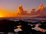 Reflecting Sunset, Napili Bay