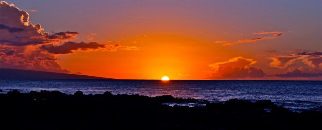 Sunset-Maui-Napili Bay