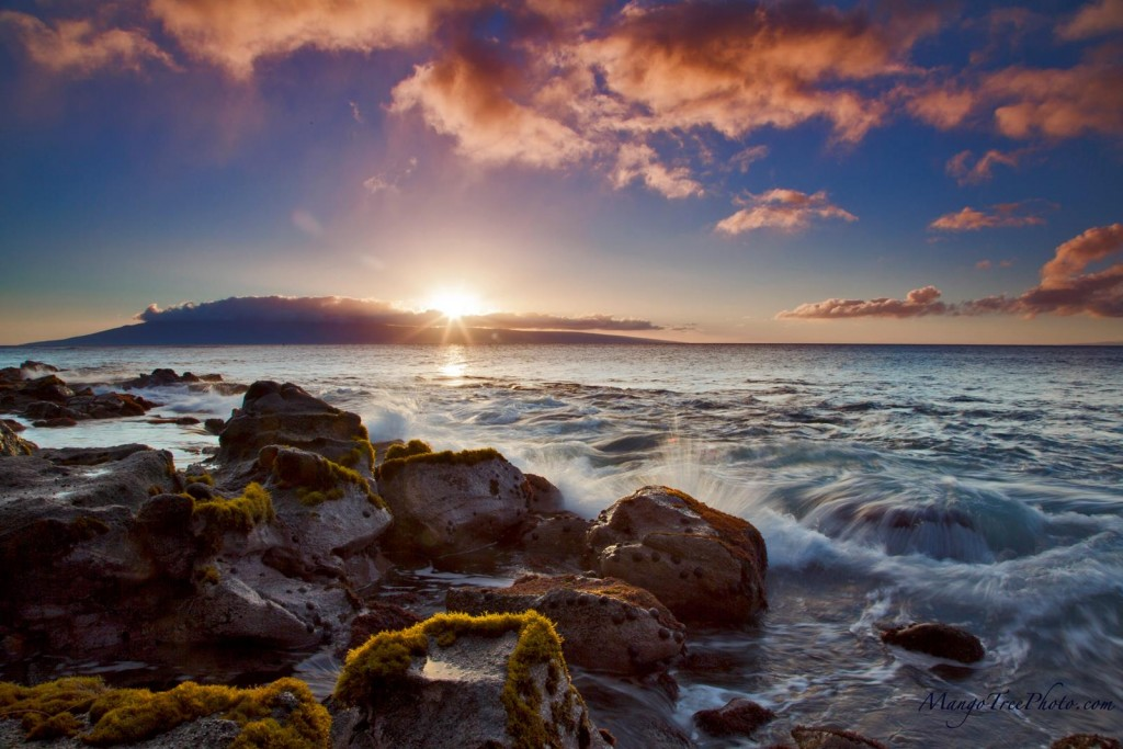 Warm Maui Sunset