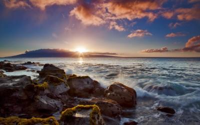 Warm Maui Sunset