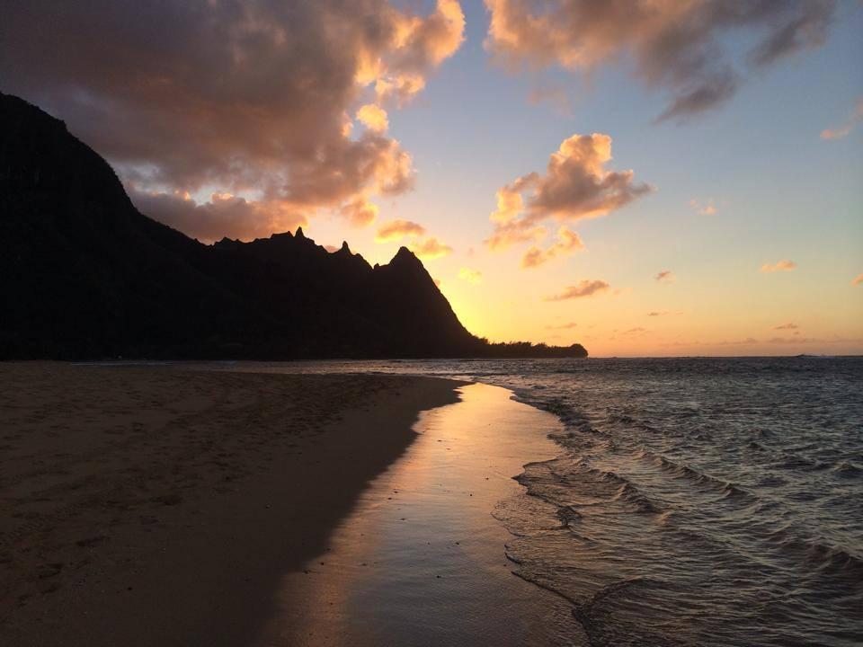 Hanalei Beach, Maui