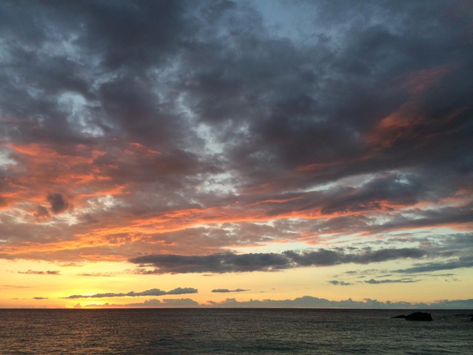 Kua Bay Sunset