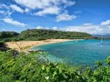 Waimea Bay Beach in North Oahu